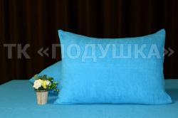 Купить голубые махровые наволочки на молнии в Иваново