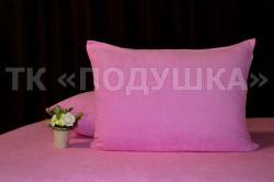 Купить розовые махровые наволочки на молнии в Иваново