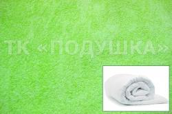 Купить салатовый махровый пододеяльник  в Иваново